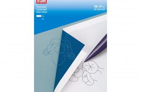 נייר העתקה כחול ולבן
