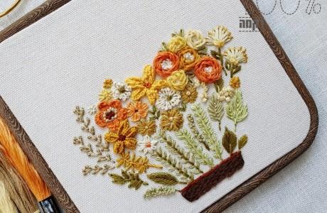אדנית הפרחים (לקוטר 16)