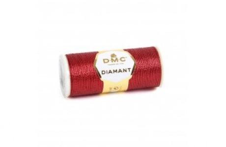 חוט אדום מטאלי DMC