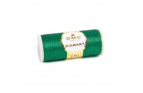 חוט ירוק מטאלי DMC
