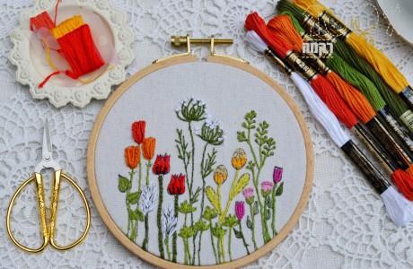 פרחי שדה (לקוטר 13)