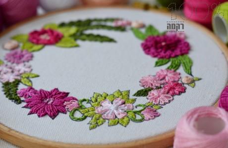 מעגל פרחים (לקוטר 19)