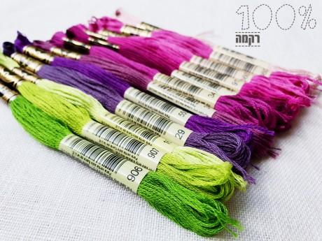 חוטי המולינה של DMC- חוט נפלא לרקמה בשלל צבעים