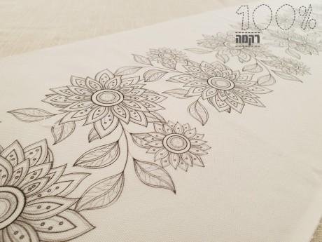הדפס מאורך לרקמה במידות 30 על 90
